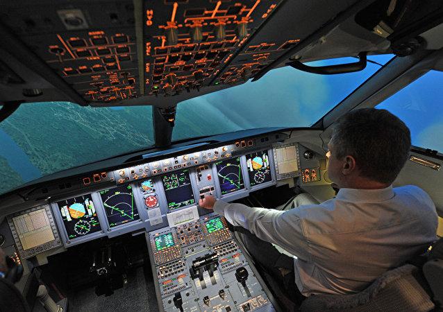 Un piloto (archivo)