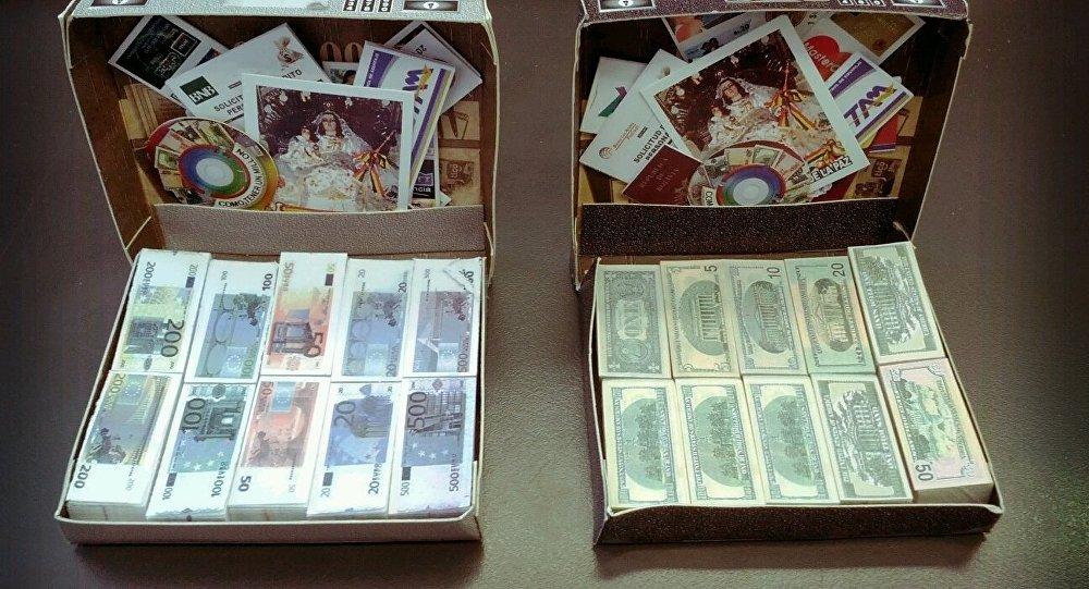 Maletas con dinero