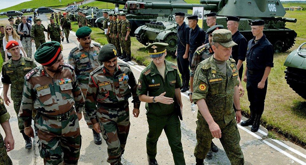 Las maniobras ruso-indias (archivo)