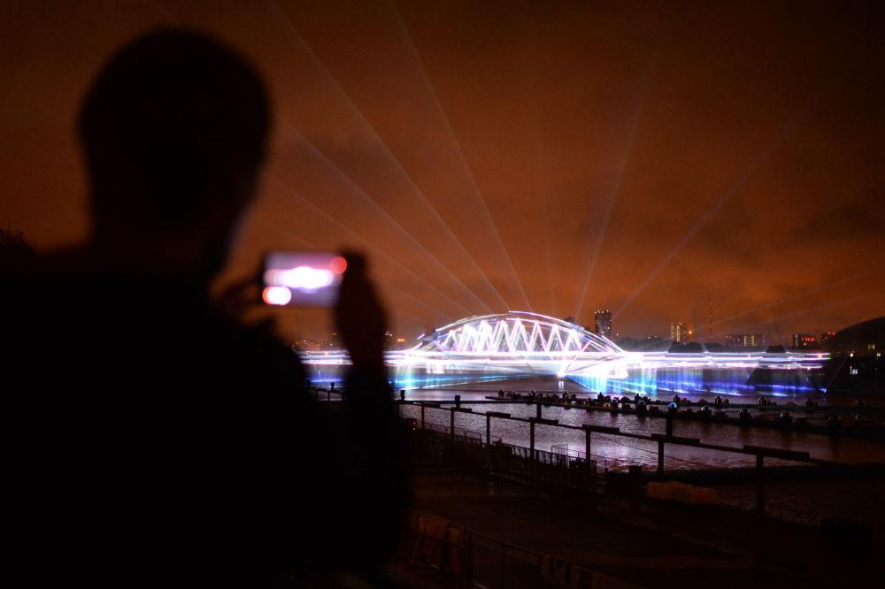 Moscú se prepara para el festival 'Círculo de Luz'