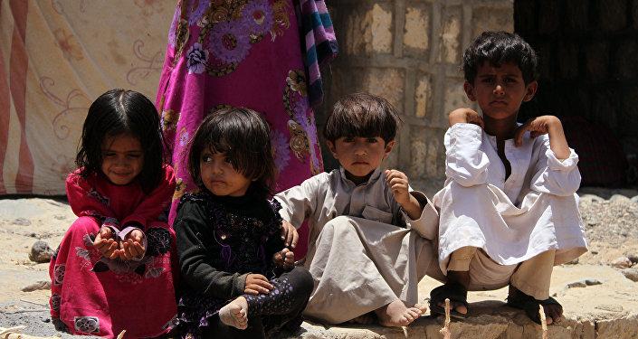 Los niños en Yemen