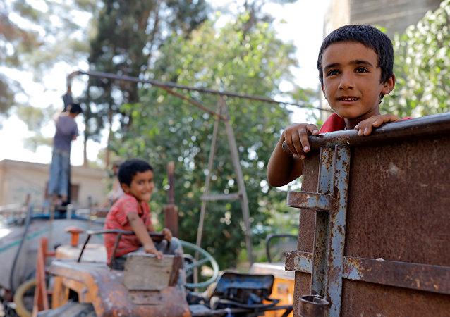 La situación en Yarabulus, Siria