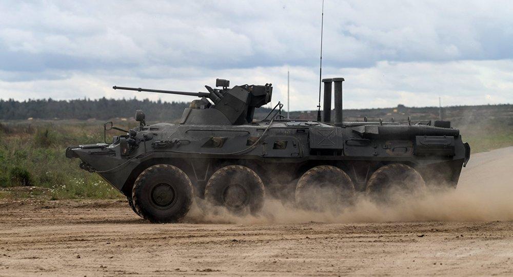 Transporte blindado BTR-82A