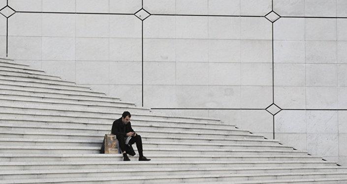 Un hombre a solas