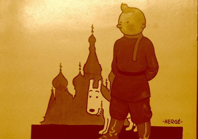 Tintín en el país de los soviets