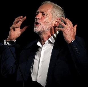 Jeremy Corbyn, el líder del partido laborista en Gran Bretaña