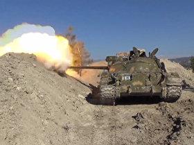 La ofensiva del Ejército sirio contra los terroristas en Latakia