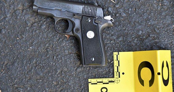 Pistola de Keith Lamont Scott