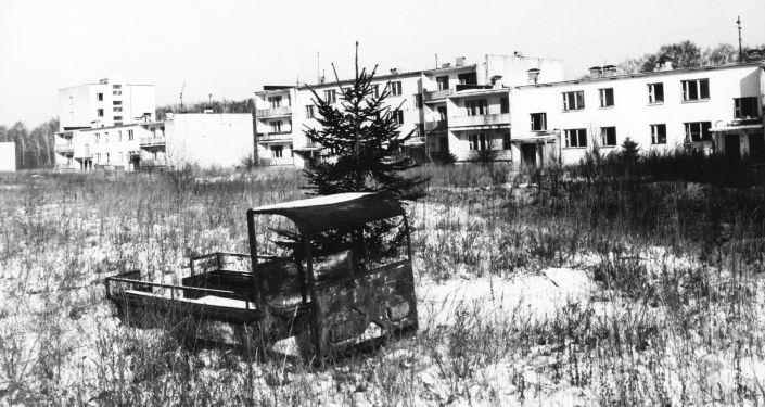 La ciudad de Gomel, afectada por la catástrofe de Chernóbil