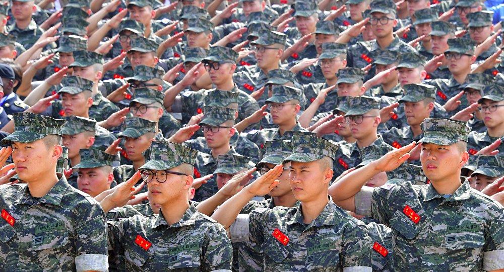 Los soldados de la Marina de Corea del Sur (imagen referencial)