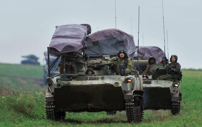 Los ejercicios de las Fuerzas Aerotransportadas de Rusia: marcha de 600 kilómetros