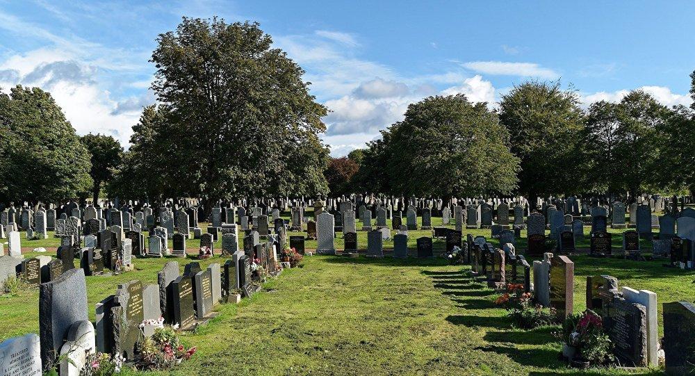 Un cementerio (imagen referencial)
