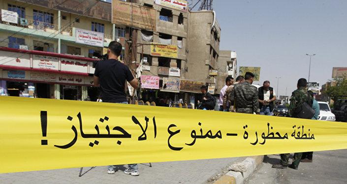 Las explosiones en Bagdad (archivo)