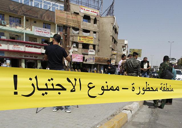 Lugar de un ataque suicida en Bagdad (archivo)