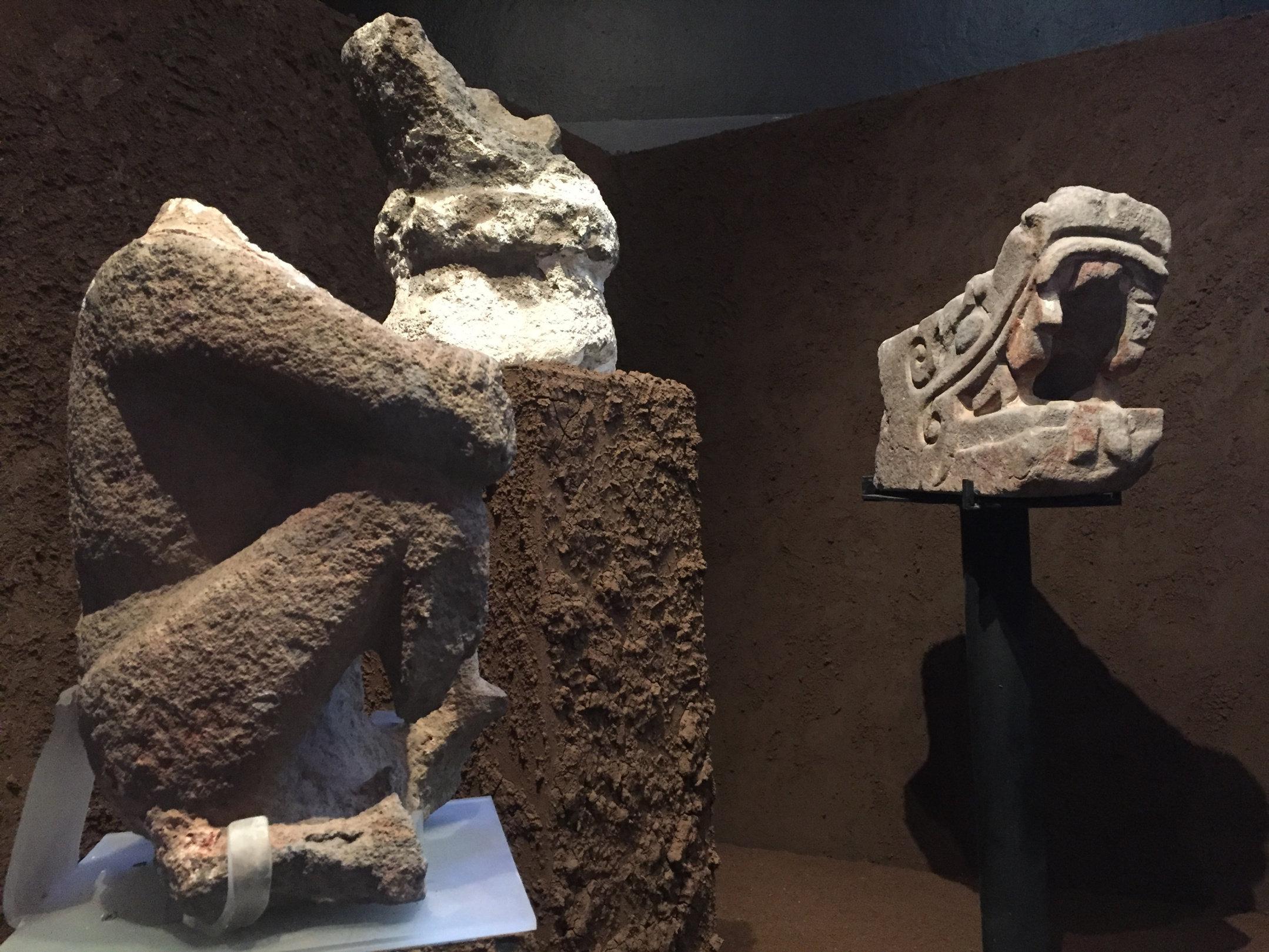 Santuario De Los Guerreros águilas Monolito único En Su Tipo En