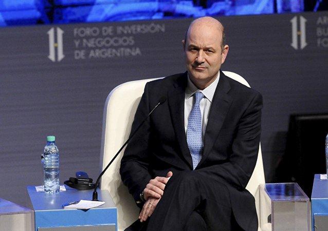 Federico Sturzenegger, presidente del Banco Central de Argentina