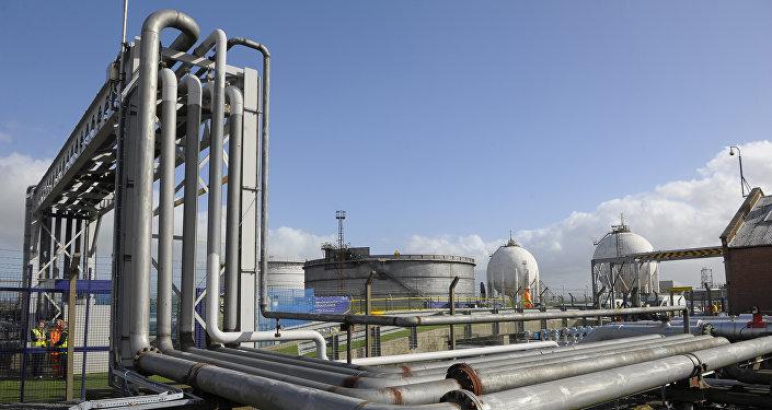 La planta de gas