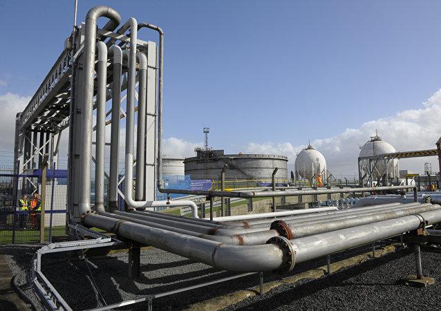 La planta de gas de Ineos en Escocia