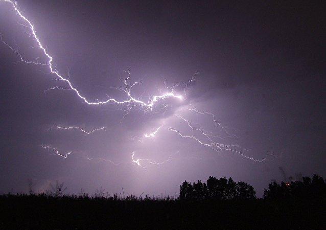 Una tormenta (ilustración)