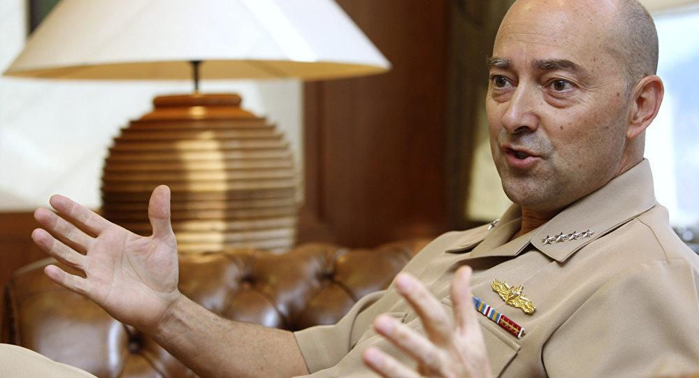 El excomandante en jefe de la OTAN,  James Stavridis