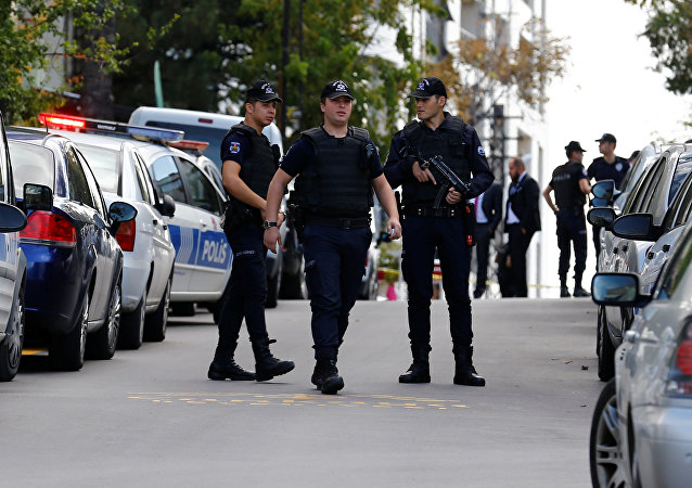 Policías de Turquía