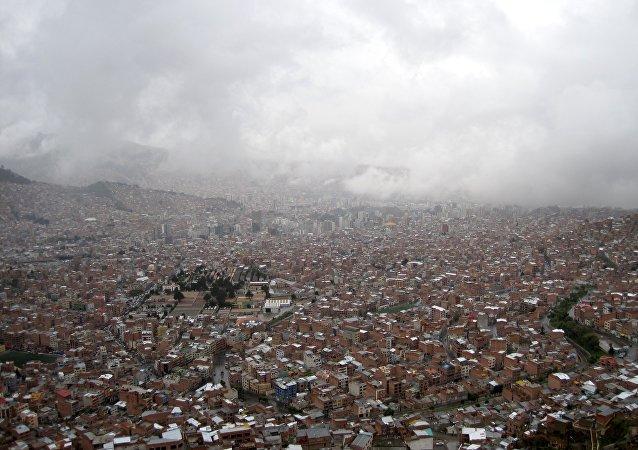 La ciudad boliviana de El Alto