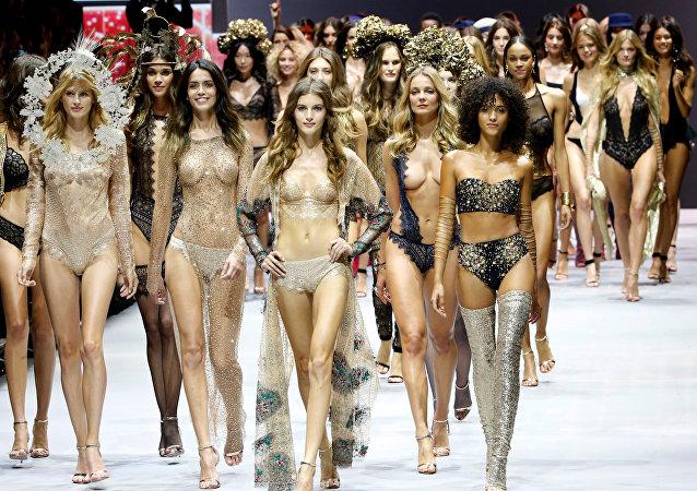 Lencería y alta moda en París