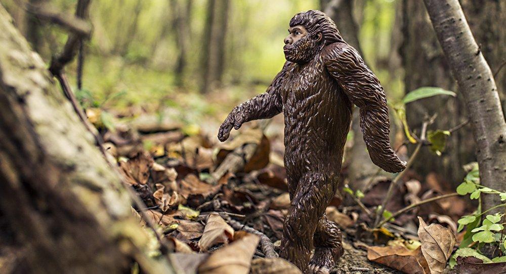 Un neandertal (ilustración)