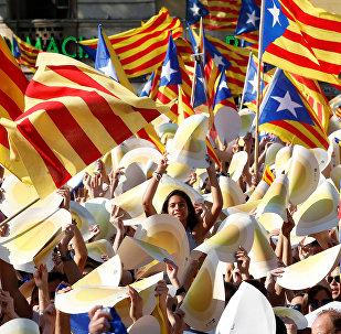 Las banderas catalanas