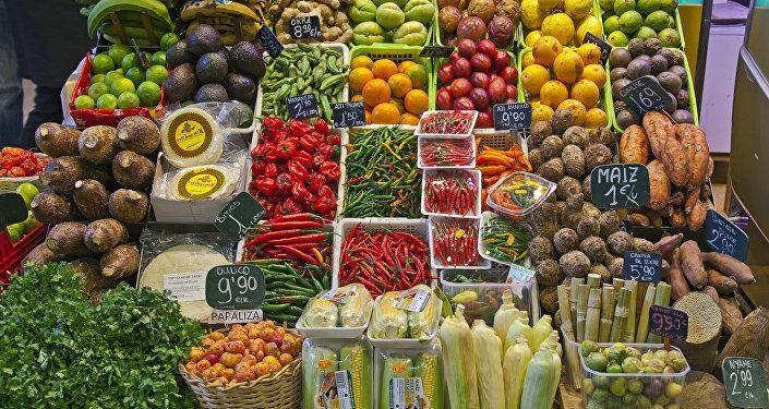 El mercado de Barcelona (archivo)