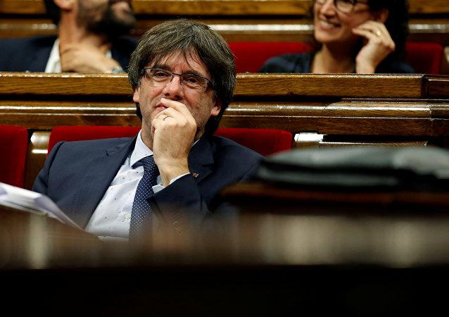 Carles Puigdemont, expresidente de Cataluña (archivo)
