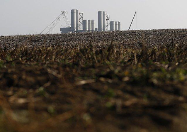 El territorio donde se construirá la central nuclear Hinkley Point C en Inglaterra