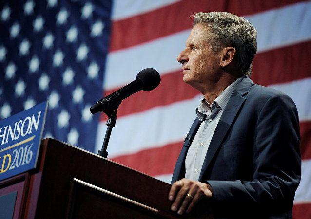 Gary Johnson, el candidato a la presidencia de EEUU