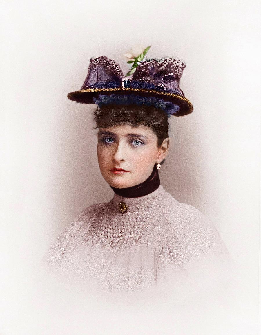 Alexandra Fiódorovna, la esposa del zar Nicolás II