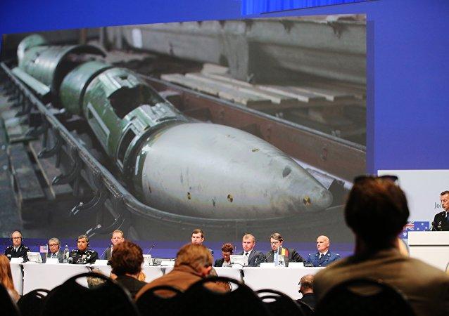 Informe técnico sobre la catástrofe de MH17 en el este de Ucrania en 2014