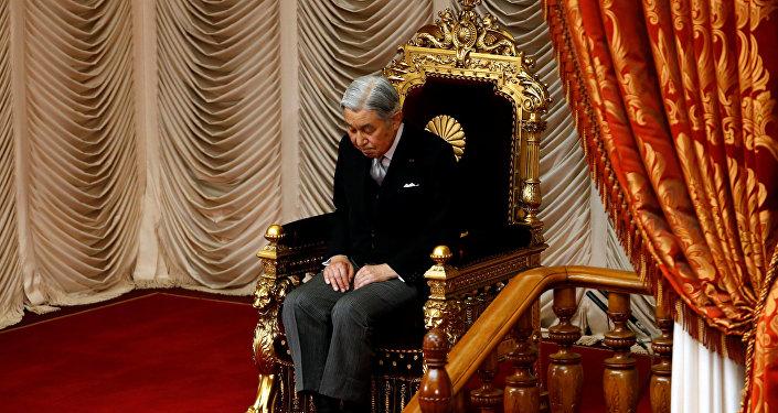 Akihito, el Emperador de Japón (archivo)