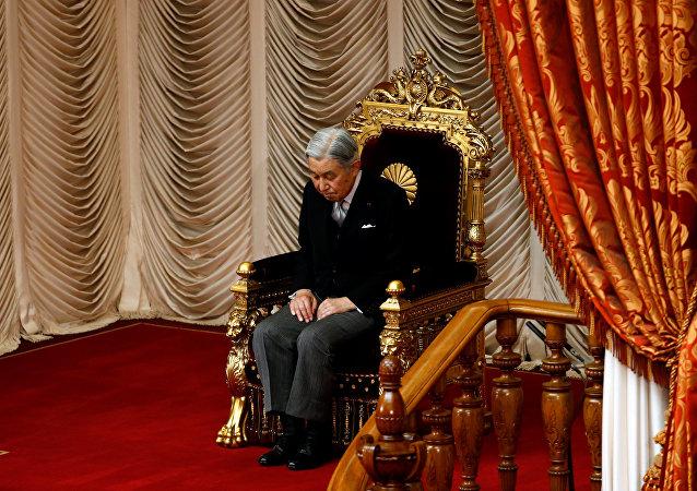 Akihito, el Emperador de Japón