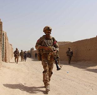 El Ejército afgano en la provincia de Helmand