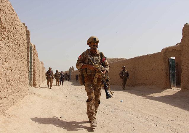 El Ejército afgano (archivo)