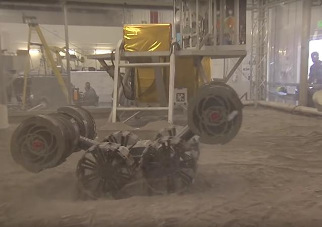 RASSOR, un nuevo vehículo no tripulado de la NASA