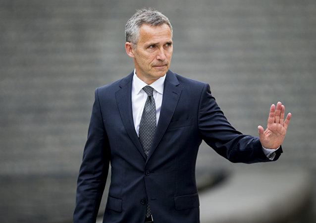 El secretario general de la OTAN y exprimer ministro de Noruega, Jens Stoltenberg