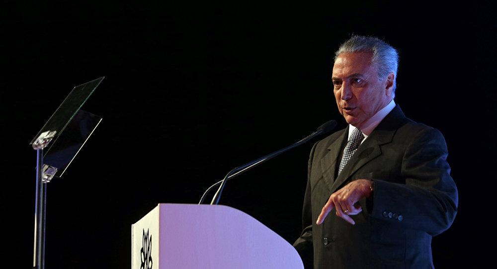 Michel Temer, presidente de Brasil