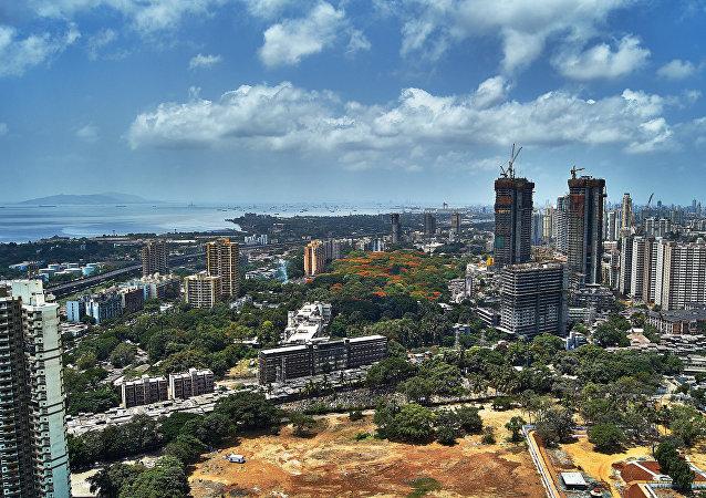 La ciudad india de Bombay