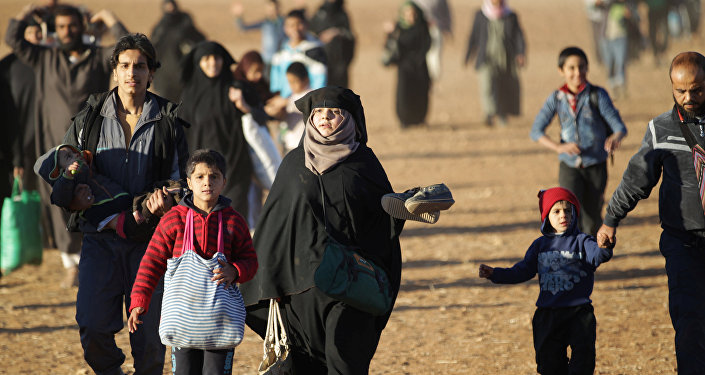 Los civiles sirios (archivo)