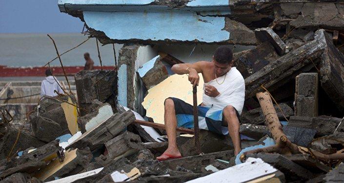 Consecuencias del paso del huracán Matthew por Cuba