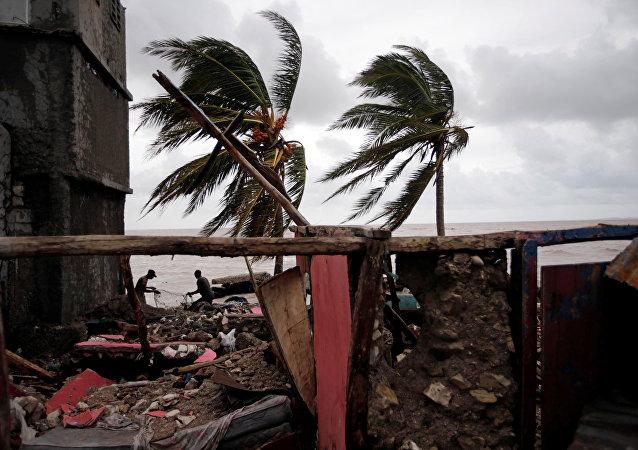 Consecuencias del huracán Matthew
