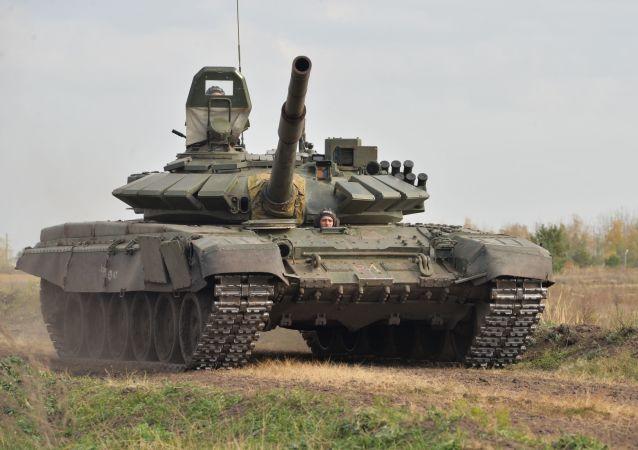 'Duelo de tanques' en la región de Vorónezh