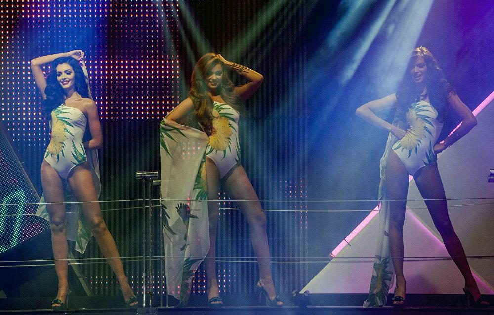 Las participantes del concurso Miss Venezuela 2016