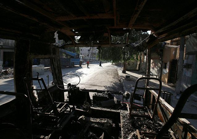 Situación en la ciudad de Alepo en Siria
