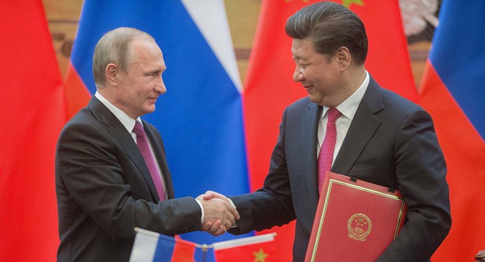 Los líderes de Rusia y China